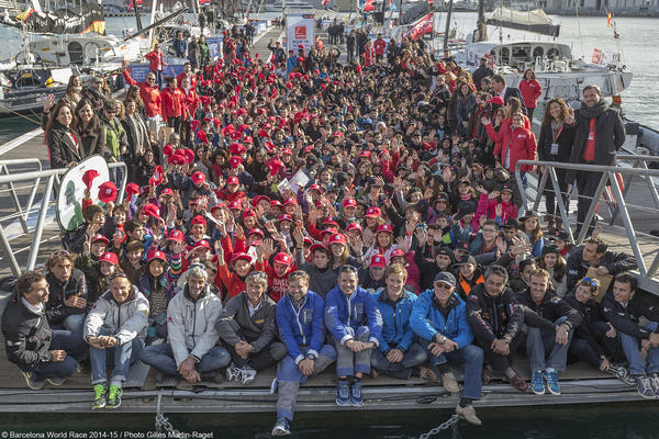 El programa educatiu de la Barcelona World Race