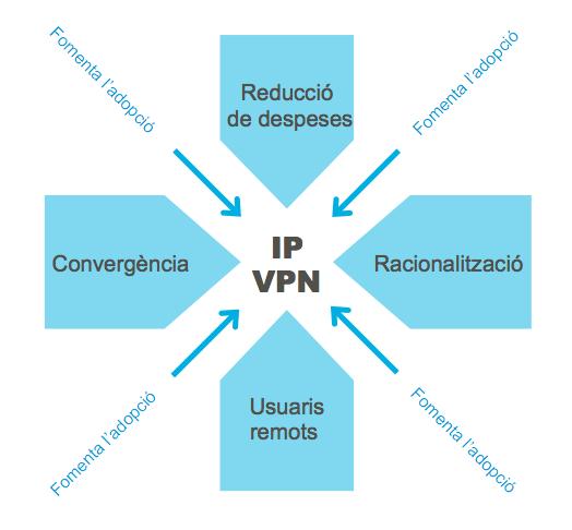 Raons per adoptar IP VPN